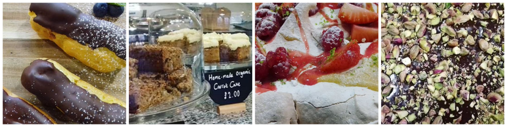 Images of sweet treats made at The Hive
